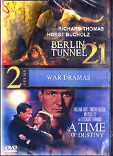 BERLIN TUNNEL 21 + A TIME OF DESTINY New Sealed DVD 2 Films New