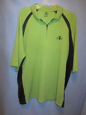Playboy Golf  2XL 100% polyester 1/4 zip Polo shirt XXL