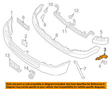 NISSAN OEM 12-18 NV3500 Front Bumper-Outer Bracket Left 622251PA0A