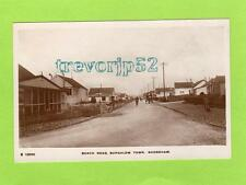 Beach Road Bungalow Town Shoreham by Sea RP pc  used 1917 WHS Kingsway Ref B863