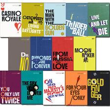 Vintage 007 James Bond Collection 13 Books Set Ian Fleming Pack Gold Finger NEW