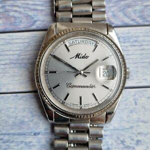 Vintage Mido Commander Automatic Men's Watch
