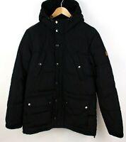 LYLE & SCOTT Men Waterproof Down Hooded Puffer Jacket Parka Size L ACZ678