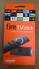 Amazon Fire TV Stick w/Alexa Voice Remote Streaming  2nd Gen Brand New