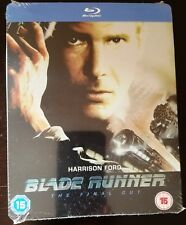 Blade Runner (1982) The Final Cut Blu-Ray Uk Exclusive Limited Edition Steelbook