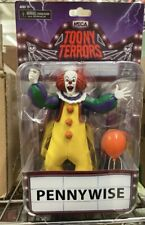 NECA Toony Terrors Classic It Pennywise the Clown Action Figure New
