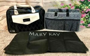 BRAND NEW!! Mary Kay Consultant Bag, Tote, Organizer (3 items) Black White Grey