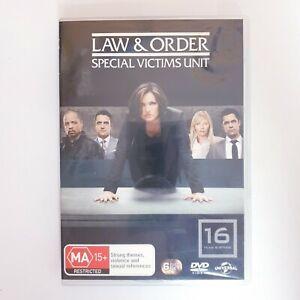 Law & Order Special Victims Unit Season 16 DVD TV Series Free Post Region 4 AUS