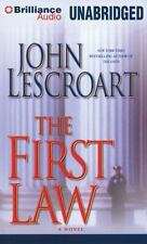 THE FIRST LAW unabridged audio CD by JOHN LESCROART - Brand New - 11 CDs 13 Hrs