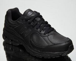 New Balance 2002R Men's Black Casual Athletic Lifestyle Leather Sneakers Shoes