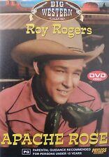Apache Rose DVD * Like New * Roy Rogers