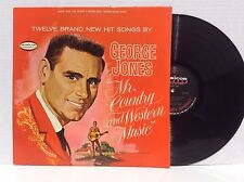 GEORGE JONES mr. country and western music vinyl LP Musicor MS3046