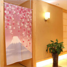 Japanese Noren Door Curtain Doorway Room Divider Home Decor Tapestry Mount Fuji
