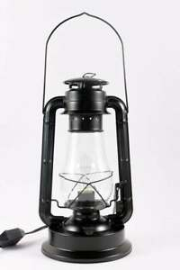 """Dimmable Electric Table Lantern Lamp - 15"""" Tall"""