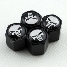 Accessories Dust Air  Wheel Stem Tire Tyre Valve Cap For Pirate Skull Head Parts