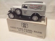 ROUTE 66 MAIN STREET USA 1932 FORD PANEL TRUCK BANK  ERTL #9116  1:25 1ST SERIES