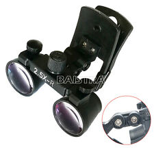NEW 2.5X Clip Type Surgical Medical Dental Loupes Dentistry Magnifier Loupes Top