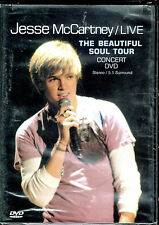 Jesse McCartney: Beautiful Soul Tour Concert, BRAND NEW DVD (2005, Hollywood)