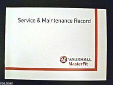 Vauxhall Service History Record Book - Vivaro Van & Crew cab Van New Genuine*