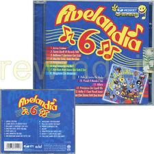 "CRISTINA D'AVENA ""FIVELANDIA 6"" RARO CD 2006 - SIGILLATO"