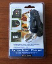 Protocol Alcohol Breath Checker + Led Flashlight + Keychain w Parking Timer Nip