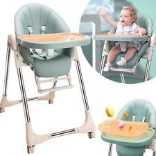 KinderHochstuhl Babystuhl Kinderstuhl Treppenhochstuhl Zusammenklappbar Essstuhl
