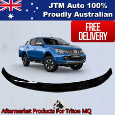 Bonnet Protector to suit Mitsubishi Triton MQ 2015 2016 2017 2018 Tinted Guard