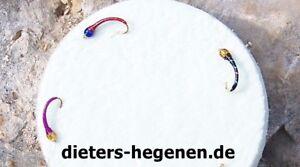 3er Profi Hegene mit Glasköpfen für Renken Felchen Forelle Maräne Ammersee Gambe