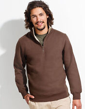 Unifarbene Herren-Kapuzenpullover & -Sweats mit Reißverschluss S
