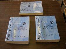 OEM Ford 2006 Explorer Shop Manuals Books Wiring Diagram nos Mercury Mountaineer