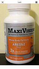 MedOp MaxiVision Whole Body Formula 120 Capsules Free Fast Shipping 25% Off