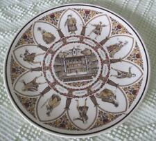 """Wedgwood Shakespeare Characters at the Globe Theatre 10"""" Souvenir Plate"""