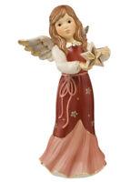 Goebel Zauberhafter Sternengruß  bordeaux 25 cm 41585291 Engel