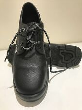 Men's Black Safety Shoes   Tuskers Size 9