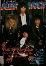 Britny Fox on Kerrang No: 184 Cover 1988