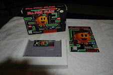 MS. PACMAN SUPER NINTENDO SUPER NINTENDO GAME COMPLETE IN BOX