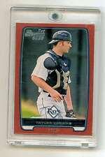 2012 Bowman Baseball - TAYLOR HAWKINS, 1/1 RED Border Rookie Card #BDPP88, Rays!