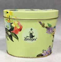 Vintage Mrs Bridges Tin Flowers