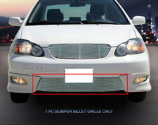 For 2005-2008 Toyota Corolla S/XRS Replacement Billet Grille Grill Bumper