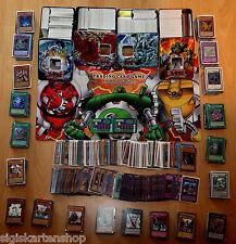 100 DEUTSCHE Yu-Gi-Oh Karten Sammlung Deck inkl. Holos Ultra Rare Gold Rare