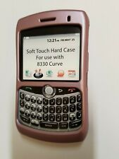 For Blackberry Curve 8300 Seidio Soft Touch Hard Case 8310 Cover Qwerty 8320