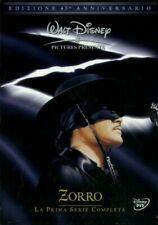 Zorro - La Primera Serie Completa, Edición 45 Aniversario (DVD, 2010, Set de 6 Discos, Italia)