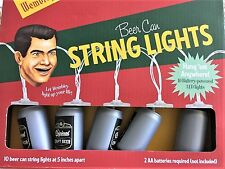 Beer Can String Lights Party Set Led Battery Patio & Garden & House