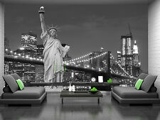 Statue of Liberty Wall Mural Photo Wallpaper GIANT DECOR Paper Poster Free Paste