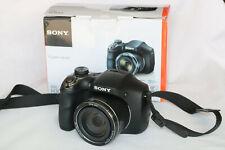 Sony Cyber-shot DSC-H300 20.1MP Digital Camera 35x Optical Zoom Tested Box