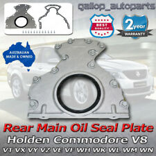 For Holden V8 LS1 LS2 Rear Main Oil Seal Plate Housing Commodore Statesman