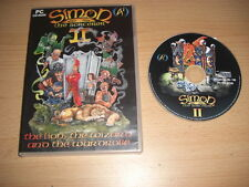 SIMON THE SORCERER II 2 - The Lion , The Wizard & The Wardrobe   Pc Cd Rom