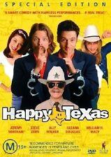 Happy Texas (DVD, 2004) region 4 Australia like new ex rental free postage