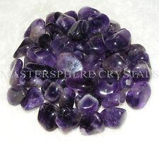 8 x Amethyst Tumblestones Crystal 18mm - 22mm A Grade Wholesale Bulk