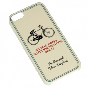 Bicycle Riders Case iPhone 5 5s / SE | Hard Plastic Protective Bike Phone Cover